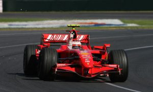 Kimi's dream start with Ferrari