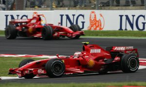 Kimi shines at Magny-Cours