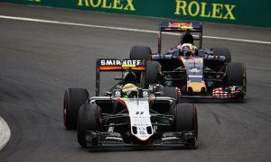 Sainz jokes about 'lucky' Force India