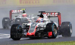 Power cut epitomises tough British GP for Haas
