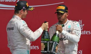 'The battle is on with Lewis' - Rosberg