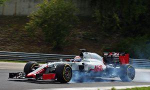 Grosjean confident Haas will fix brake issues
