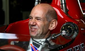 Red Bull's Newey puts in some hot laps