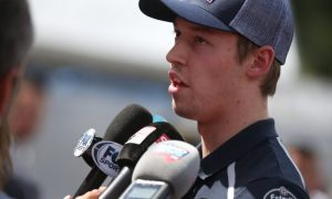 Kvyat eager to get back to work at Spa