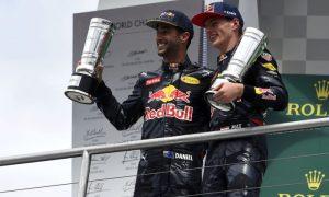 Ricciardo enjoying the challenge with Verstappen