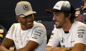 Hamilton: 'It'd be really sad' not to race Alonso again