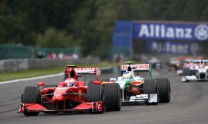 Kimi's fourth win at Spa