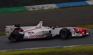 McLaren's Vandoorne collects first Super Formula win