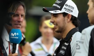Perez boosted and looking for more points