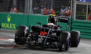 Button a collateral victim of startline incident
