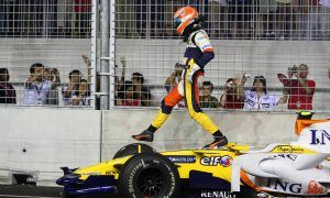 Piquet Jr.'s infamous smash and crash