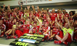Ferrari's most recent F1 win