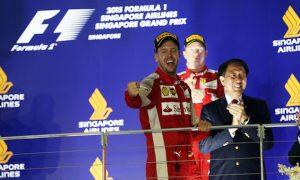 Vettel revisits 'excellent memories' from Singapore