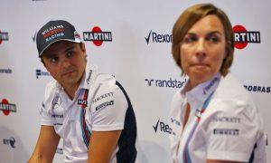Claire Williams on Felipe Massa and 2017 drivers