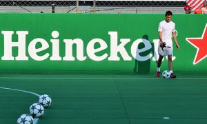 Heineken envisions 'continuous content' for F1