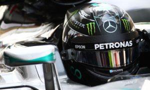 Rosberg heads Hamilton as Mercedes dominates FP1