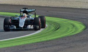 Hamilton buoyant after FP2 improvement