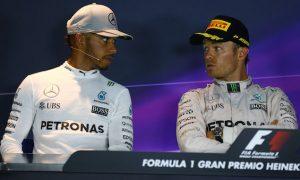 Hamilton: Rosberg and I want cars between us