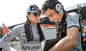 'No politics' at Force India, says Perez