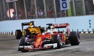 Vettel enjoys battling from the back of the grid