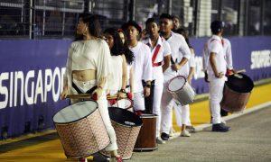 Scene at the 2016 Singapore Grand Prix