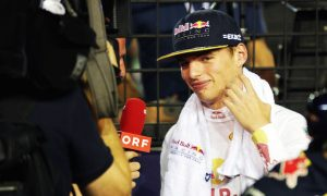 Verstappen welcomes being 'a talking point' in F1