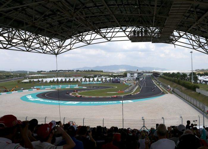 Grandstand view of Sepang International Circuit, Malaysia, Malaysian Grand Prix