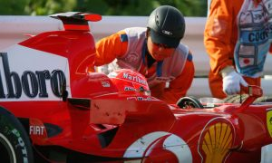 Schumacher's title #8 hopes go up in smoke