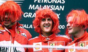 Look back: Schumacher's first Ferrari title