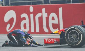 Vettel claims fourth title in India