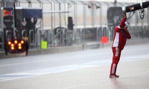 2015: Rain stops practice play in Austin