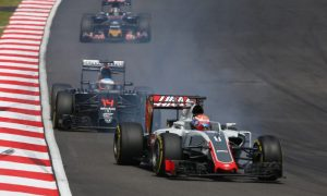 Brake material is cause of problems - Grosjean