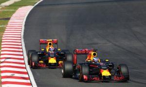 Racing Max was on the edge but great fun - Ricciardo
