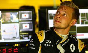 Magnussen reprimanded, explains slow in-lap error