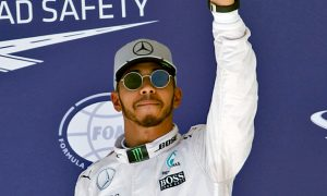 Lewis celebrates 'amazing' first Austin pole