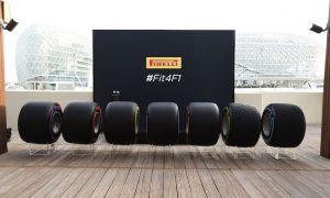 Pirelli unveils 25% wider 2017-spec tyre range