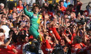 Massa's first home triumph