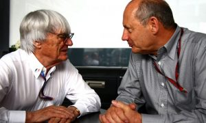 Bernie still hoping for reconciliation at McLaren