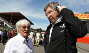 Has Ross Brawn signed on to replace Bernie?
