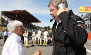 Brawn better off with FIA than Liberty - Ecclestone