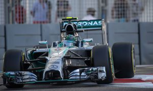 Rosberg draws first blood in 2014 title fight
