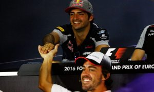 Alonso worthy of at least five world titles - Sainz