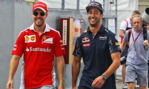 'Frustrated' Vettel outbursts are 'too much' - Ricciardo