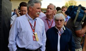 Liberty's Carey sits in on F1 Strategy Group meeting
