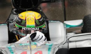 Hamilton: 'I was just chilling up front'