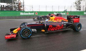 Ricciardo 'held back' by visor issue in 'frustrating race'