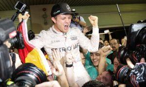 Welcome to the F1 champions' club, Nico