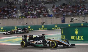 Force India securing P4 'remarkable'