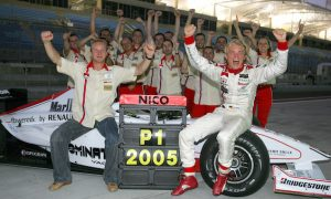 Rosberg's formative years