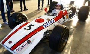 Taking the raucous Honda RA301 for a spin